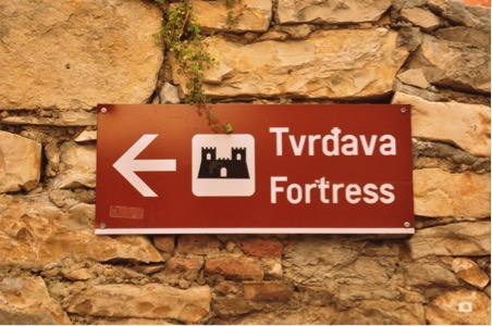 On the way to the Fortress of Turina